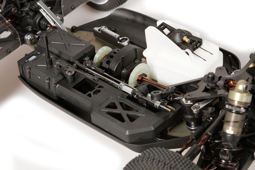 SERPENT Shock Part Frame Nylon Cobra 811 10 PIECES EN NYLON POUR AMORTISSEUR